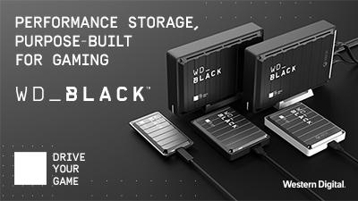 Western Digital Paints PC and Console Gaming WD_BLACK™ With New Portfolio
