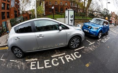 electric car charging - Credit: Miles Willis/Getty