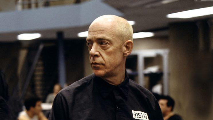 J.K Simmons as Vern Schillinger on HBO's OZ. (Credit: HBO)