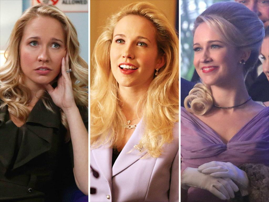 "<strong>Anna Camp<br />Shows:</strong> ""The Mindy Project,"" ""True Blood, ""Vegas""<br /><br />The talented blond beauty has proved she can do it all -- including comedy, drama, and music. Her most recent TV roles have been as Mindy's married best friend on ""The Mindy Project"" and as an aspiring starlet in a multiepisode arc on ""Vegas."" She also showed off her singing chops in last year's a cappella movie ""Pitch Perfect."" This summer, Camp returns to ""True Blood."" She'll be reprising her role as ""anti-vamp puritan"" Sarah Newlin, who last appeared on the HBO series in 2009."