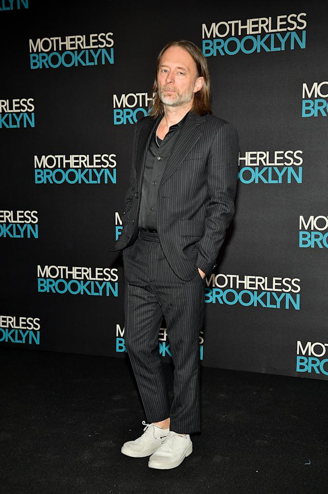 <p>WHERE: <em>Motherless Brooklyn</em> Q&A and jazz performance in London</p> <p>WHEN: November 21, 2019</p> <p>WHY: TFW you've entered a new style era and it looks insanely good on you.</p>