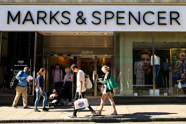 A Marks & Spencer store in central London. Photo: Dinendra Haria/SOPA Images/LightRocket via Getty Images