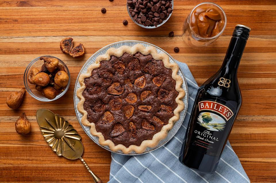 Baileys Chocolate Fig Pie by Justice of the Pies