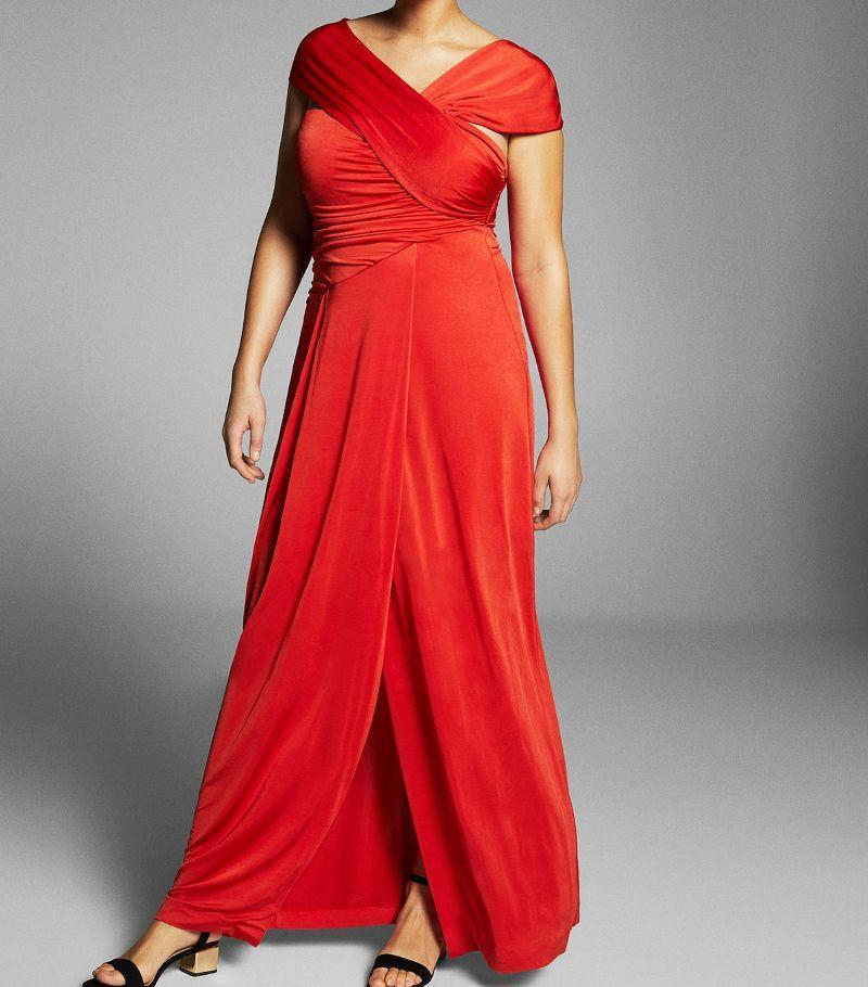 Talk about red hot. Available in sizes 10 to 18.