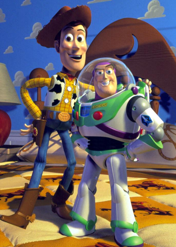"""""""Toy Story"""": """"I like it because it's creative, and it's funny sometimes,"""" said Simpkins. """"I like the actor who played Woody -- Tom Hanks -- and I like the story."""""""