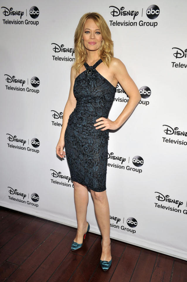 "Jeri Ryan (""Body of Proof"") attends the Disney ABC Television Group 2013 TCA Winter Press Tour at The Langham Huntington Hotel and Spa on January 10, 2013 in Pasadena, California."