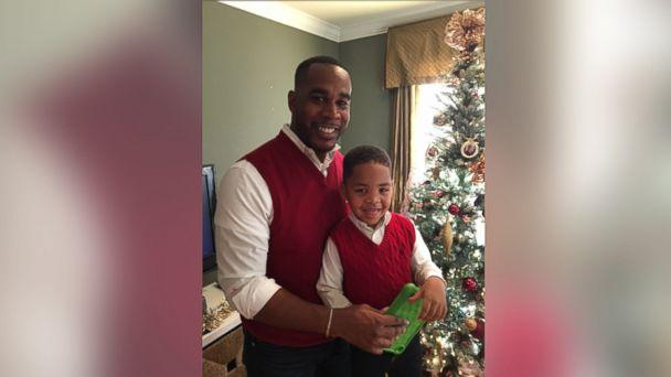 PHOTO: James Cotten was inspired to adopt his 4-year-old son Caleb after watching the 2002 film, 'Antwone Fisher.' (James Cotten)