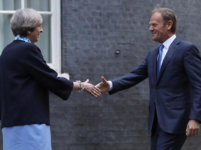 Donald Tusk is in charge of overseeing the Brexit talks: Getty