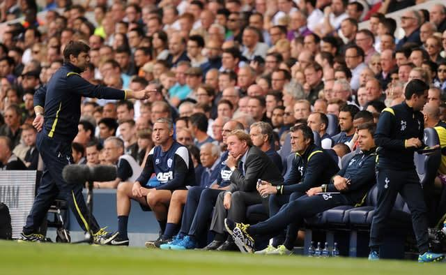 Mauricio Pochettino and Harry Redknapp have clashed as managers (Andrew Matthews/PA)