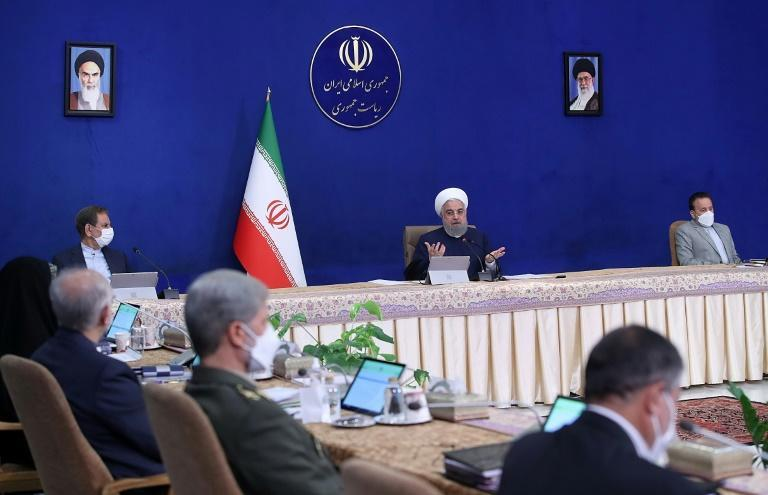Iran's President Hassan Rouhani apologised for the power cuts at a cabinet meeting