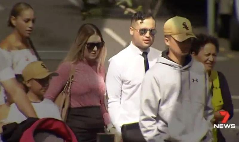 Tristan Heather had consumed 20 drinks when he threw a punch at Mr Duroux. Source: 7 News