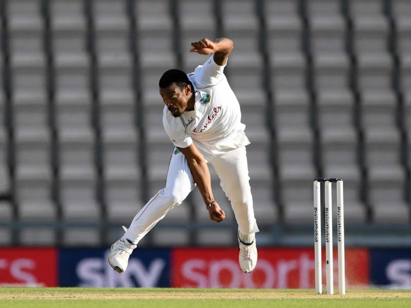 West Indies fast bowler Shannon Gabriel: Getty Images