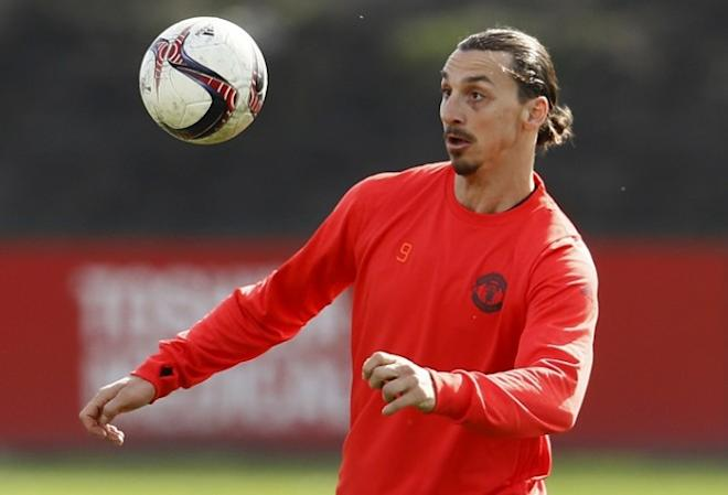 Zlatan Ibrahimovic, Manchester United, FC Rostov, Europa League, last 16 second leg