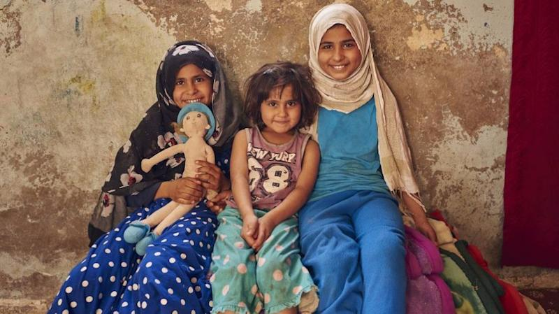 A mother of five, Leyla only wants what's best for her children. Source: Act for Peace