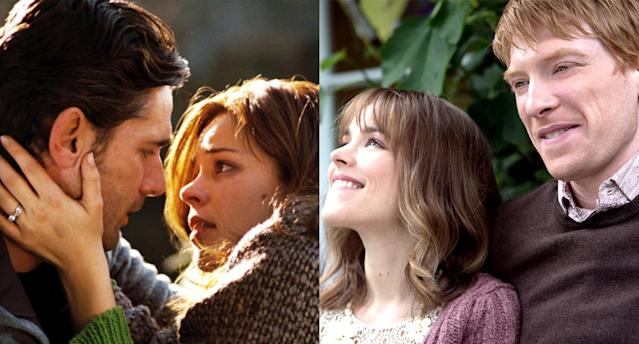 <p>What is it with time travelers and Rachel McAdams? In <em>About Time </em>and <em>The Time Traveler's</em> <em>Wife</em>, the actress is pursued by dudes who manipulate the timestream in order to woo and win her. Of the two films, <em>About Time </em>is the more egregiously sentimental, but <em>The Time Traveler's Wife </em>takes the premise to more unpleasant places. We'd put both of them in Doc Brown's DeLorean and bury them in the distant past. (Photo:Alan Markfield/New Line Cinema/courtesy Everett Collection; Murray Close/Universal/courtesy Everett Collection) </p>