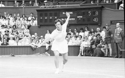 Billie Jean King says women are speaking out more and men are increasing their support - Credit: Srdja Djukanovic
