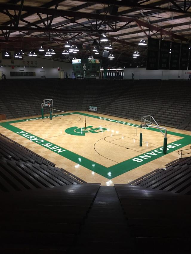 New Castle Fieldhouse opened in 1959 and is still the largest high school gym in the world.