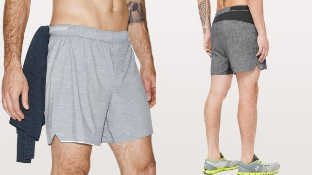 These unlined shorts are perfect for a light jog.