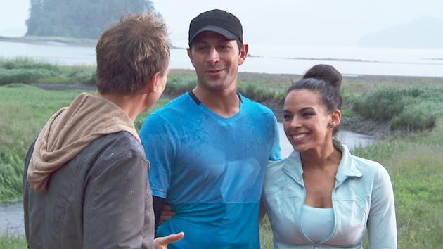 "Jason and Amy in ""The Amazing Race"""