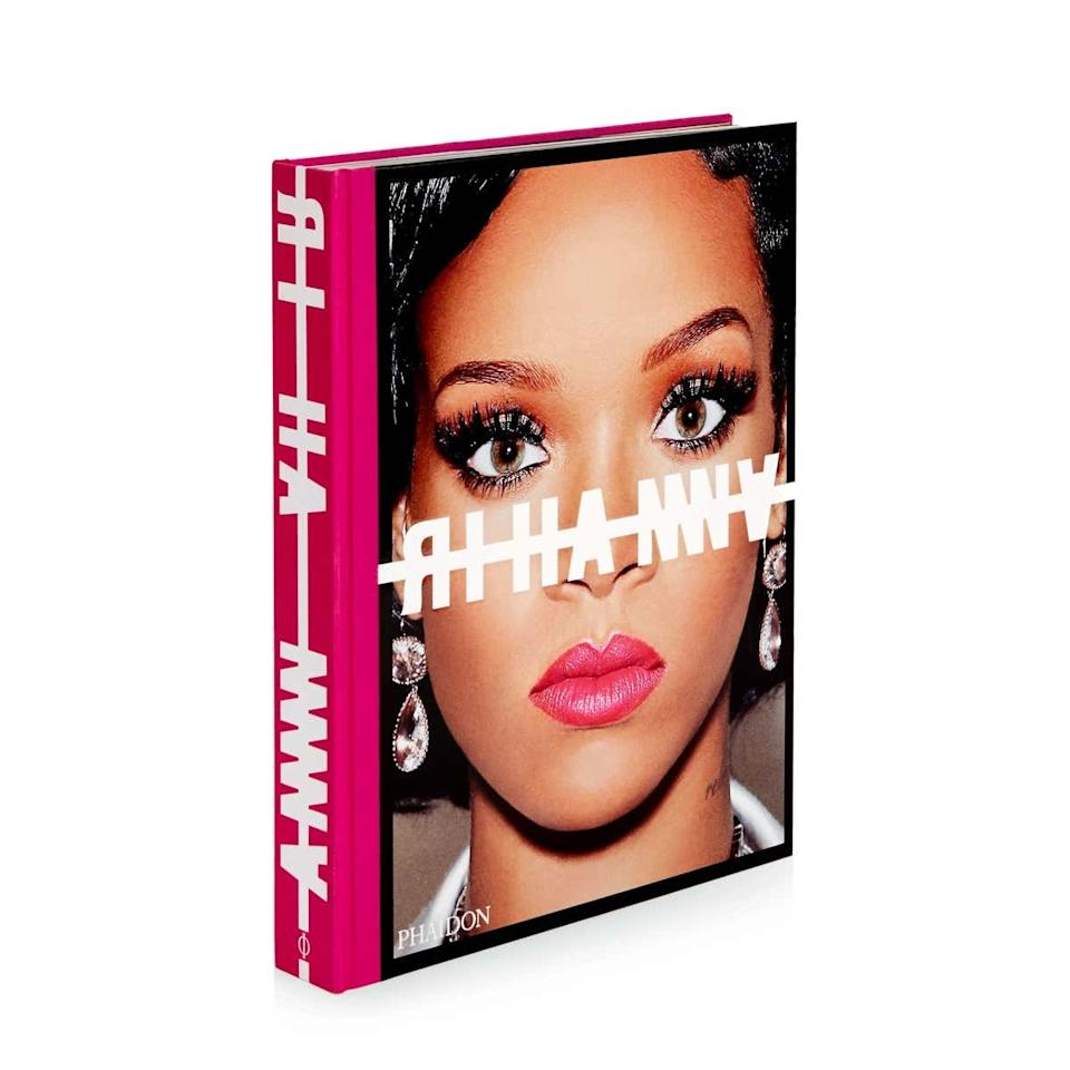 """Who wouldn't want to flip through quality photos of Rihanna's face? This new book spanning her career features editorials and never-before-seen photos from tours, life in Barbados, and more. $150, Moda Operandi. <a href=""""https://www.modaoperandi.com/phaidon-gg19/rihanna-hardcover-book"""">Get it now!</a>"""
