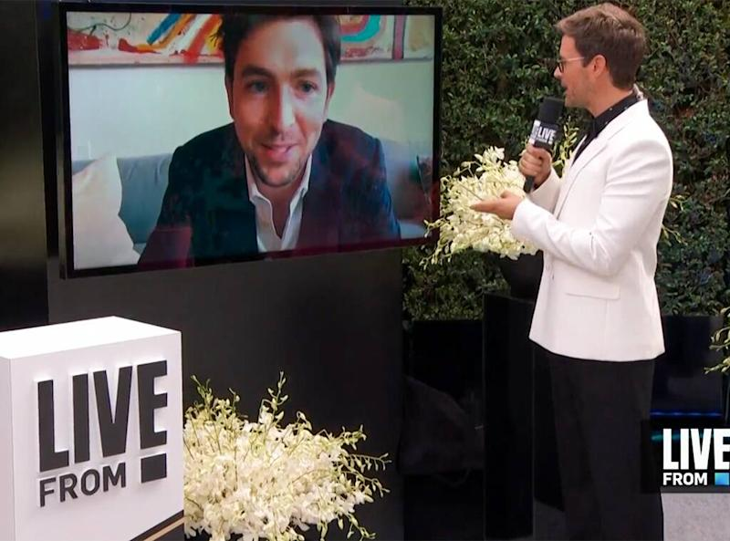 Nicholas Braun, Emmys 2020, Emmy Awards, E! Live from the Red Carpet