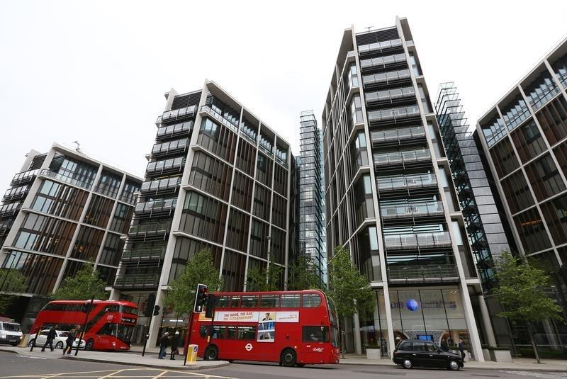 The development of One Hyde Park is seen in London
