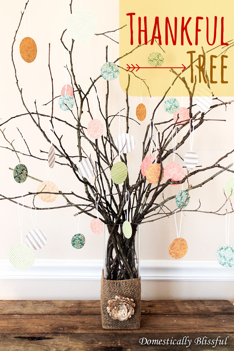 "<p>Fall isn't just the season for earthy tones! Bring out the soft pastels and fun patterns with with this truly charming version of a thankful tree, which uses colorful <a href=""https://www.amazon.com/Colorbok-Designer-Paper-Wild-Free/dp/B01KG9PFPE/ref=sr_1_1?dchild=1&keywords=scrapbook+paper&qid=1597090686&s=arts-crafts&sr=1-1&tag=syn-yahoo-20&ascsubtag=%5Bartid%7C10055.g.33525114%5Bsrc%7Cyahoo-us"" rel=""nofollow noopener"" target=""_blank"" data-ylk=""slk:scrapbook paper"" class=""link rapid-noclick-resp"">scrapbook paper</a> and white string to display everyone's blessings on the branches. </p><p><em><a href=""https://domesticallyblissful.com/thankful-tree/"" rel=""nofollow noopener"" target=""_blank"" data-ylk=""slk:Get the tutorial at Domestically Blissful »"" class=""link rapid-noclick-resp"">Get the tutorial at Domestically Blissful »</a></em> </p>"