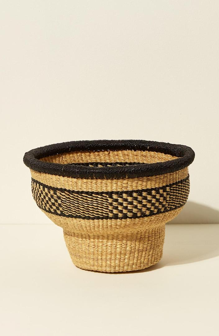 <p>We're into the look of this <span>Goodee x Baba Tree Drum Basket</span> ($100).</p>