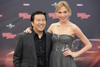 <p>After small roles in Date Night and Knight and Day , Gadot returned to the Fast franchise. She posed with director Justin Lin at the German premiere on April 27, 2011. (Photo: Peter Wafzig/Getty Images) </p>