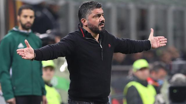 AC Milan made too many mistakes in their Europa League defeat to Arsenal, coach Gennaro Gattuso conceded.