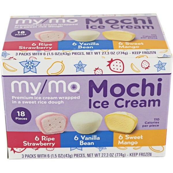 """<p>Ice cream balls wrapped in squishy rice dough that tastes almost like marshmallows? Yes, please. Once you try <a href=""""https://www.instacart.com/store/items/item_33730473"""" target=""""_blank"""" class=""""ga-track"""" data-ga-category=""""Related"""" data-ga-label=""""https://www.instacart.com/store/items/item_33730473"""" data-ga-action=""""In-Line Links"""">My/Mo Mochi Ice Cream</a>, you'll become addicted to finishing meals with one or two of these little bites.</p>"""