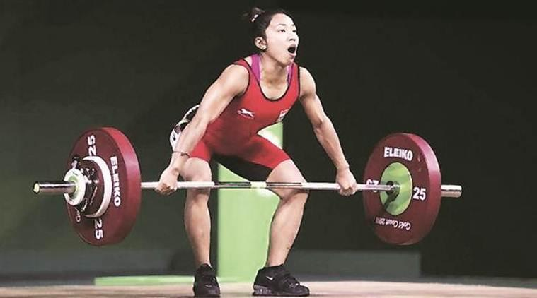 mirabai chanu gold medal, mirabai chanu gold, mirabai chanu wins gold at world weightlifting championship, mirabai chanu wins gold with record world lift, commonwealth weightlifting championship, 2020 olympics