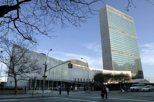 The United Nations headquarters, pictured on April 14, 2005, in New York