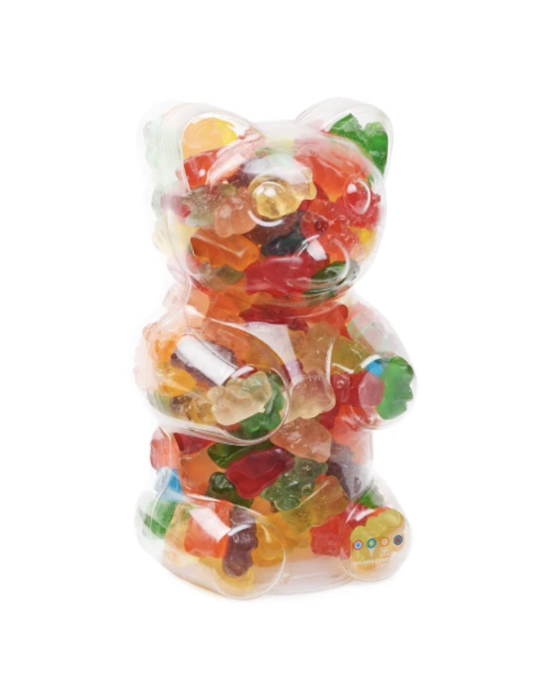 """<h2>Dylan's Candy Bar Filled Gummy Bear Container</h2><br>Easy, sweet, and filled with treats. You can't go wrong. <br><br><em>Shop <strong><a href=""""https://fave.co/37PwkhW"""" rel=""""nofollow noopener"""" target=""""_blank"""" data-ylk=""""slk:Dylan's Candy Bar"""" class=""""link rapid-noclick-resp"""">Dylan's Candy Bar</a></strong></em><br><br><strong>Dylan's Candy Bar</strong> Filled Gummy Bear Container, $, available at <a href=""""https://go.skimresources.com/?id=30283X879131&url=https%3A%2F%2Ffave.co%2F3ox33iU"""" rel=""""nofollow noopener"""" target=""""_blank"""" data-ylk=""""slk:Dylan's Candy Bar"""" class=""""link rapid-noclick-resp"""">Dylan's Candy Bar</a>"""