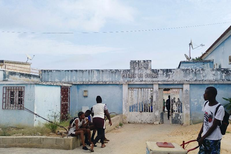 The football club in Cabinda, a province in the grips of a low-level separatist insurgency partly fuelled by anger over the government taking huge profits from the province's oil reserves (AFP Photo/Daniel GARELO PENSADOR)