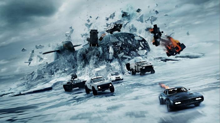 the fate of the furious 2017 Universal