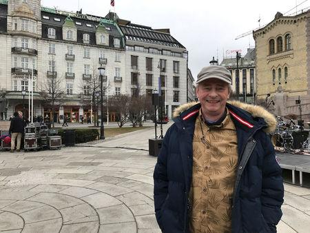 Hagen poses for a picture in Oslo