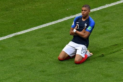 France's Kylian Mbappe was the star of the round of 16