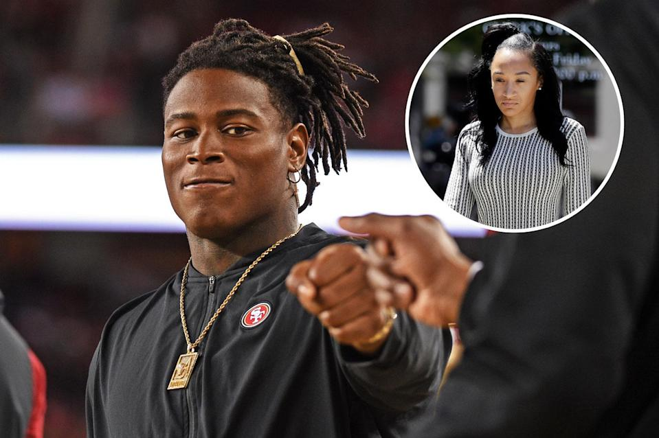Domestic abuse charges against Washington Redskins' linebacker Reuben Foster have been dropped. But his ex-girlfriend Elissa Ennis insists it wasn't the only time. (Photo: Getty Images; AP)