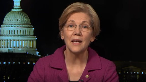 elizabeth warren explained why #shepersisted on 'the daily show'
