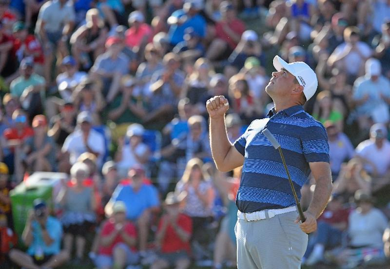 Gary Woodland wins Waste Management Phoenix Open in play-off