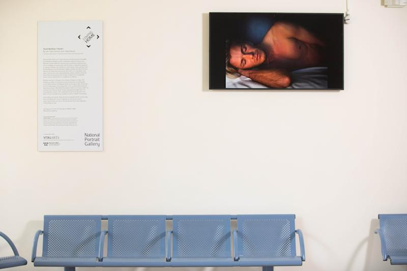 The film portrait of David Beckham by Sam Taylor-Johnson has a new homeHospital