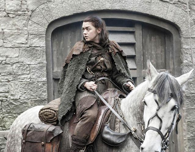 Maisie Williams as Arya Stark in HBO's 'Game of Thrones' (Photo Credit: HBO)