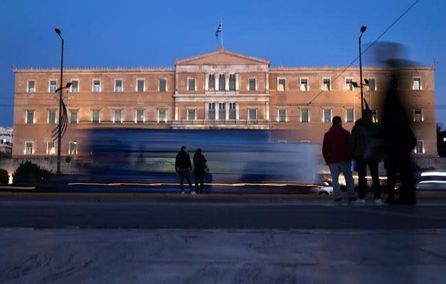 Greek bailout ends, but Europe's debt problems grind on