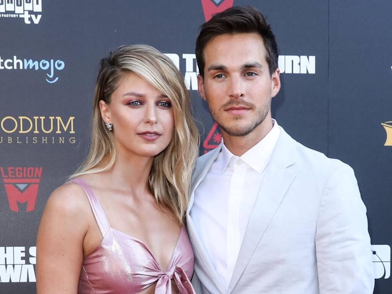 Supergirl star Chris Wood supports wife Melissa Benoist following domestic violence revelation