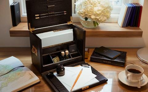 The Connaught Mews writing desk