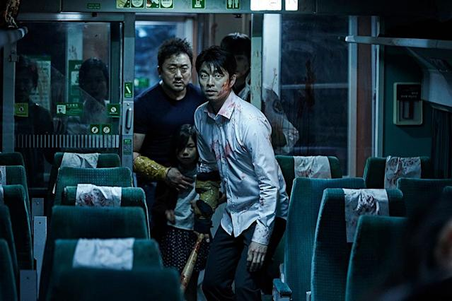 "<p>South Korea has contributed some bonkers horror flicks to the canon this millennium, and <em>Train to Busan</em> might be the apotheosis. The premise: A bunch of normal folks board the titular choo-choo, among them an infected woman. Faster than you can say, ""Casey Jones,"" there's a ghoul outbreak in the chillingly close confines of the passenger cars as they race down the tracks. Let's just say zombies on a train are way more awesome, and freakout-inducing, than snakes on a plane. (Available on Netflix.) — <em>M.E. </em>(Photo: Well Go USA Entertainment/courtesy Everett Collection) </p>"
