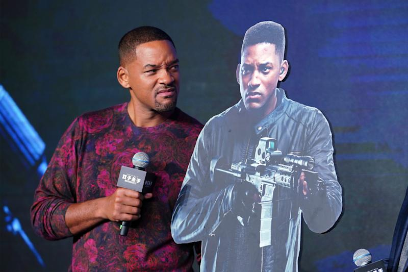 SHANGHAI, CHINA - OCTOBER 14: Actor Will Smith attends 'Gemini Man' press conference on October 14, 2019 in Shanghai, China. (Photo by VCG/VCG via Getty Images)