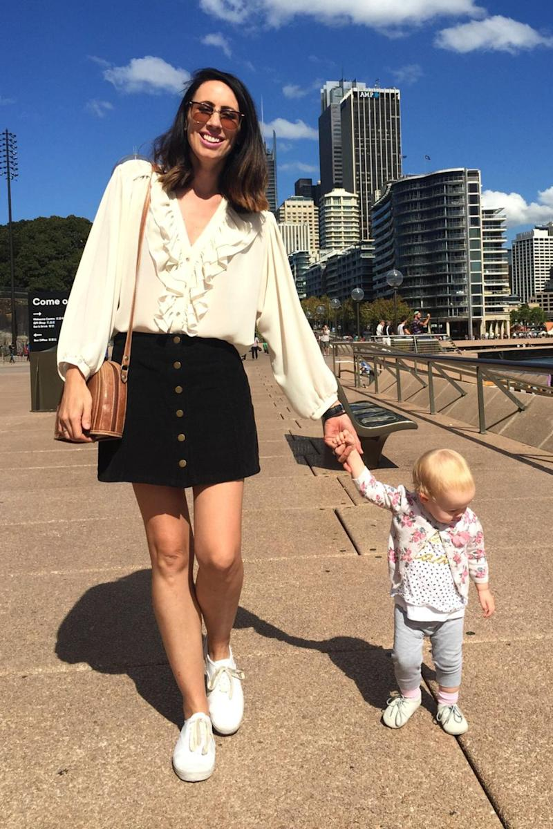 She learnt the habit from her parents and is passing it on to her daughter. Photo: Caters