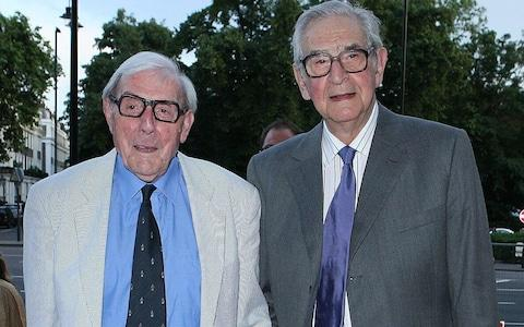 Eric Sykes and Denis Norden  - Credit: Ian West /PA